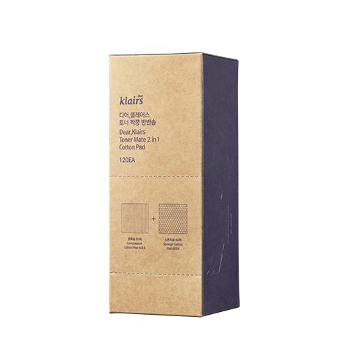 토너 짝꿍 반반솜 (120매)