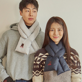 OURS WINTER 패디드 스카프 (2 Color)